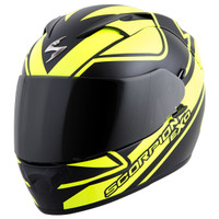 Scorpion EXO-T1200 Freeway Helmet Yellow