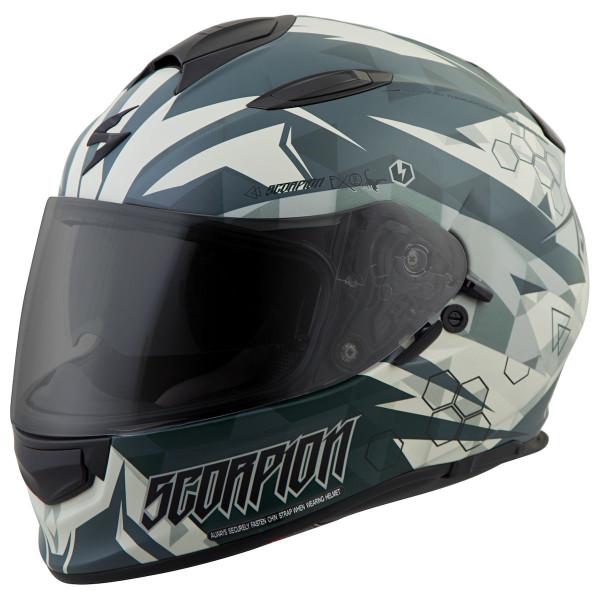 Scorpion EXO-T510 Cipher Helmet Green
