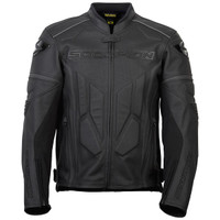 Scorpion Exo Clutch Leather Jacket For Men Black Main View