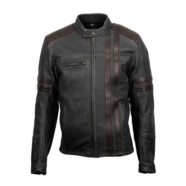 Scorpion 1909 Leather Jacket Front SIde