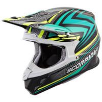 Scorpion VX-R70 Barstow Helmet Green