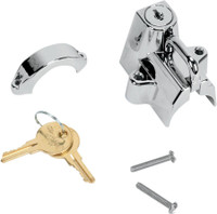 Kuryakyn Universal Chrome Helmet Lock Small