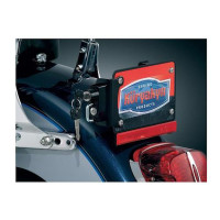 Kuryakyn Universal License Plate Helmet Lock With Mount 1