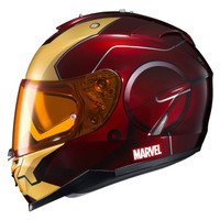 HJC IS-17 Iron Man Helmet Red