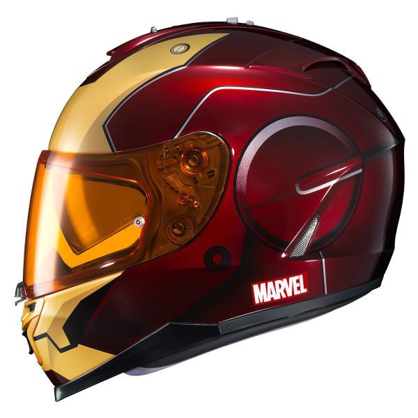 HJC IS-17 Iron Man Helmet Red