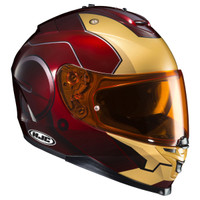 HJC IS-17 Iron Man Helmet Red 1