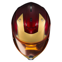 HJC IS-17 Iron Man Helmet Red 2