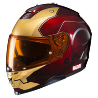 HJC IS-17 Iron Man Helmet Red 3