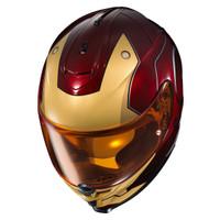 HJC IS-17 Iron Man Helmet Red 5