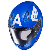 HJC CL-17 Captain America Helmet Blue 2