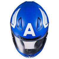 HJC CL-17 Captain America Helmet Blue 3