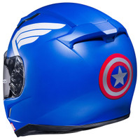 HJC CL-17 Captain America Helmet Blue 4
