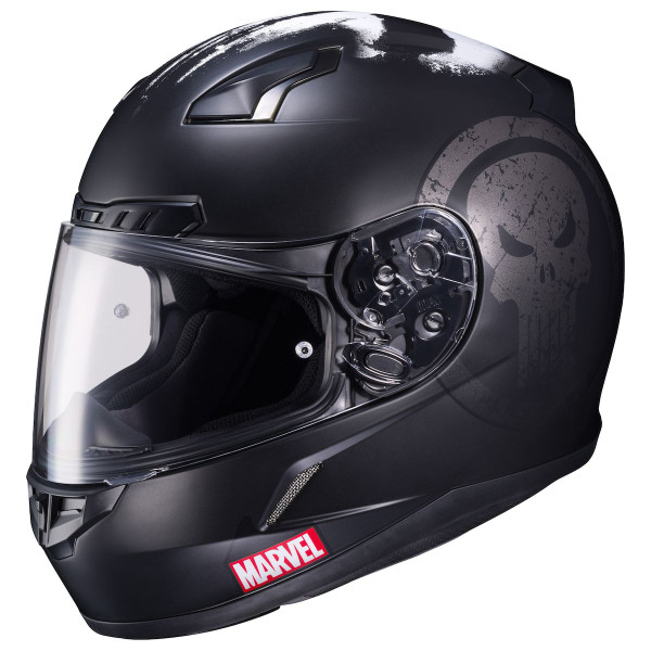 HJC CL-17 Punisher Helmet Matte Black