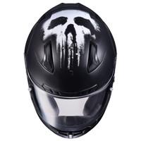 HJC CL-17 Punisher Helmet Matte Black 3