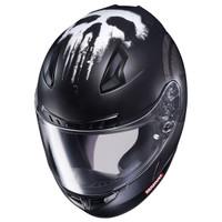 HJC CL-17 Punisher Helmet Matte Black 4