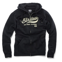 100% Barstow Fleece Zip Hoody Black
