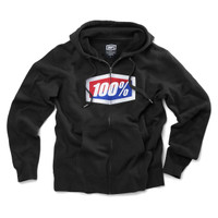 100% Official Fleece Hoody Black