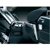 Kuryakyn Passenger Drink Holder For Harley Touring / Trike 1998-2013 1