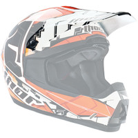 Thor Quadrant Fragment Helmet Visor Orange
