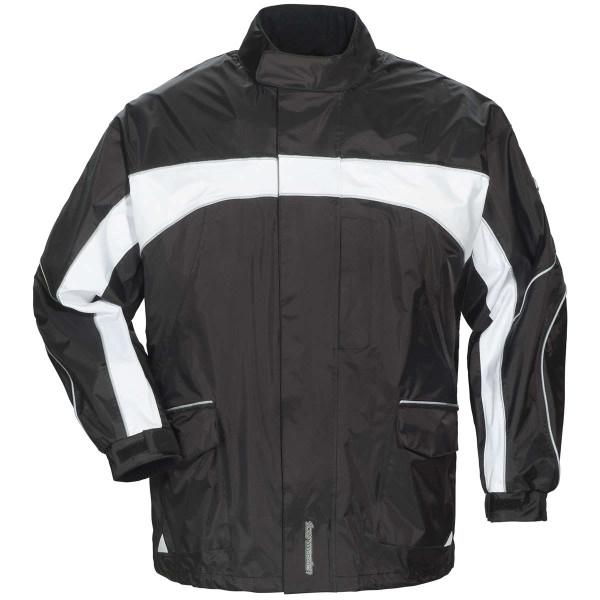 Tour Master Elite 3 Rain Jacket 2S Black