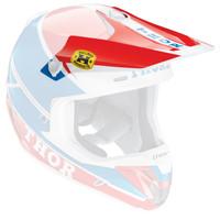 Thor Verge Pro GP Helmet Visor Blue