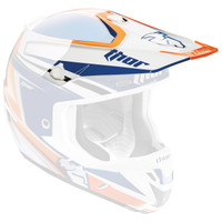Thor Verge Flex Helmet Visor Orange