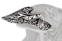 Fly Racing Visor for F2 Carbon Helmets White