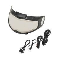 Z1R Phantom Electric Face Shield Clear