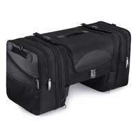 Viking Expandable Cruiser Large Motorcycle Tail and Tunnel Bag 1