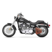 Viking Dellingr Brown Dyna Motorcycle Swing Arm Bag 2