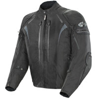 Joe Rocket Atomic Ion Jacket Black Front Side View