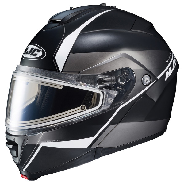 HJC IS-MAX II Mine Helmet With Frameless Electric Shield