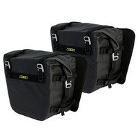 Nelson-Rigg Deluxe Adventure Motorcycle Dry Saddlebags Black
