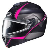 HJC IS-Max 2 Mine Snow Helmet - Dual Lens Pink