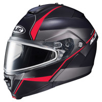 HJC IS-Max 2 Mine Snow Helmet - Dual Lens Red