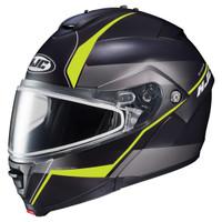 HJC IS-Max 2 Mine Snow Helmet - Dual Lens Yellow