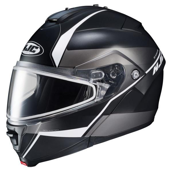 HJC IS-Max 2 Mine Snow Helmet - Dual Lens White