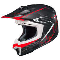 HJC CL-X7 Blaze Helmet White/Black/Red