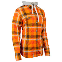 Speed and Strength True Romance Women's Armored Moto Shirt Orange 1