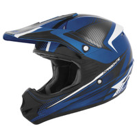 Cyber UX-23 Carbonite Helmet Black/Blue