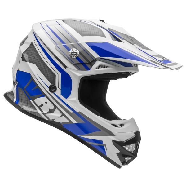 Vega VRX Venom Off Road Helmet Blue