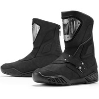 Icon 1000 Retrograde Boots Black Back 1