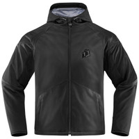 Icon Merc Stealth Jacket Black Front