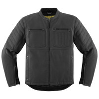 Icon 1000 Axys Jacket Black Front