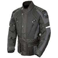 Joe Rocket Ballistic Revolution Textile Jacket Gray Front Side View