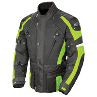Joe Rocket Ballistic Revolution Textile Jacket Hi Viz