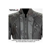 Joe Rocket Ballistic Revolution Textile Jacket Front Closure Zipper
