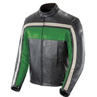 Joe Rocket Old School Jacket Green