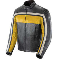 Joe Rocket Old School Jacket Yellow