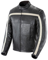 Joe Rocket Old School Jacket Black Front Side View